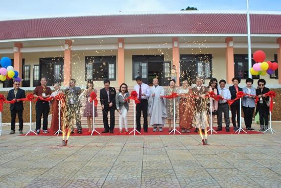 Opening ceremony of the school