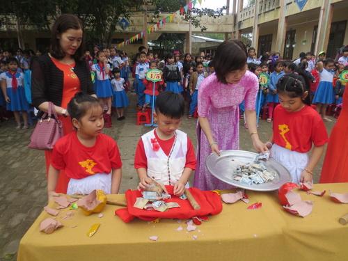 Trường Tiểu học Hùng Vương tổng kết phong trào