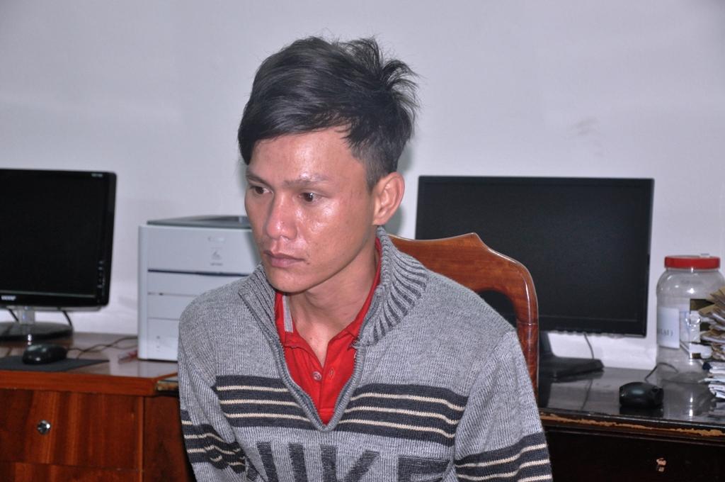 Đối tượng Nguyễn Hồng Quyết đã bị bắt. Ảnh: X.M
