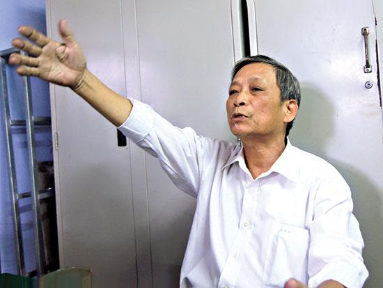 Ông Nguyễn Tường ở thị trấn Đông Phú (huyện Quế Sơn).