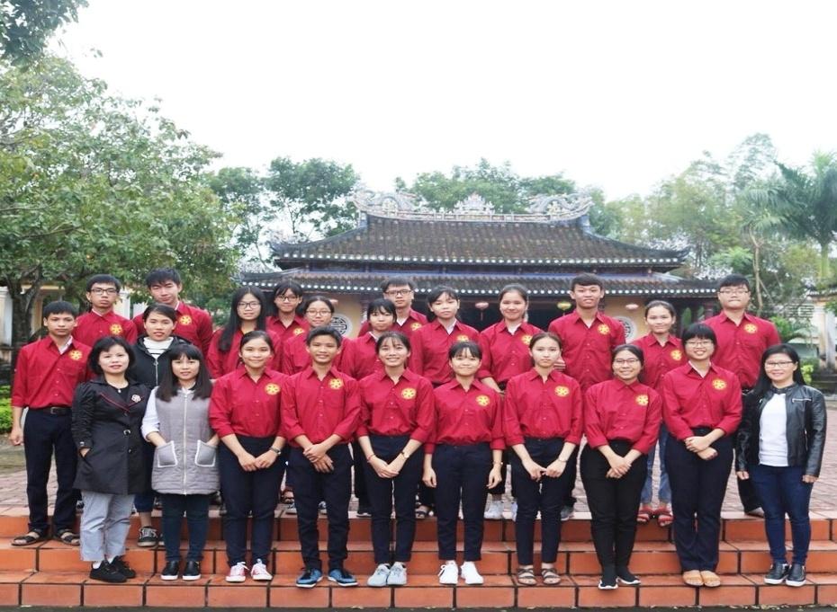 Đội tuyển HSG Quốc gia trường THPT chuyên Lê Thánh Tông năm 2018