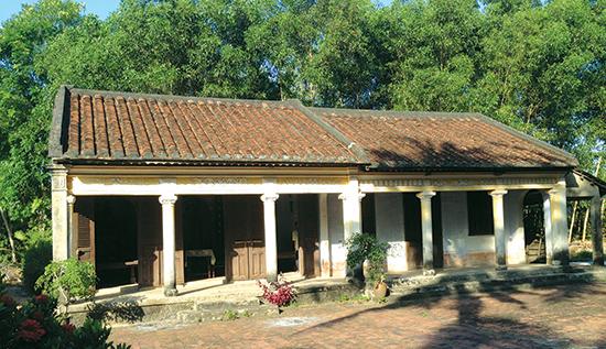 Nhà thờ tộc Nguyễn ở phường An Phú,TP Tam Kỳ. ảnh: Phú Bình