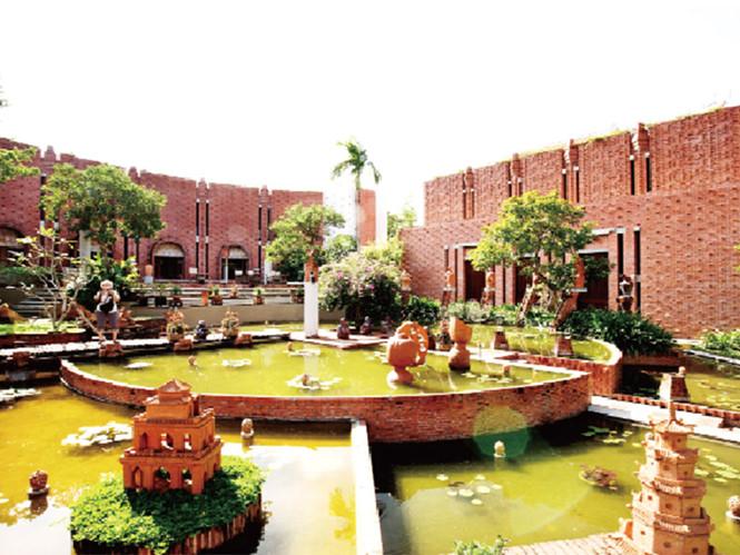 Thanh Ha terracotta park.