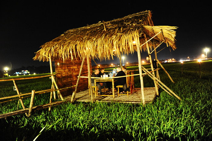 The Field Hoi An restaurant attractive to tourists.