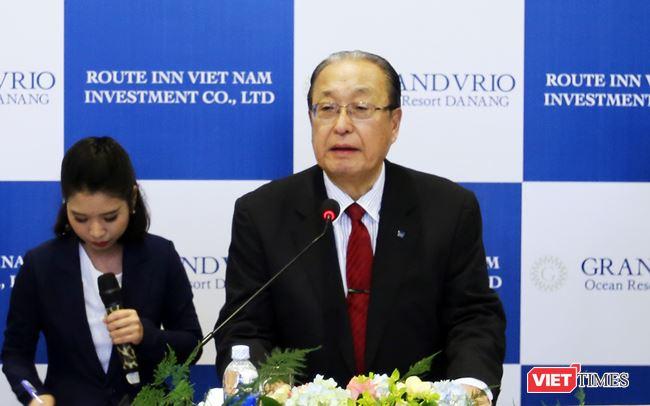 Japanese billionaire Katsutoshi Nagayama