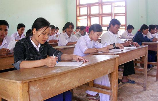 Trường THPT miền núi cần sự hỗ trợ về chuyên môn để nâng cao chất lượng giáo dục. Ảnh: XUÂN PHÚ