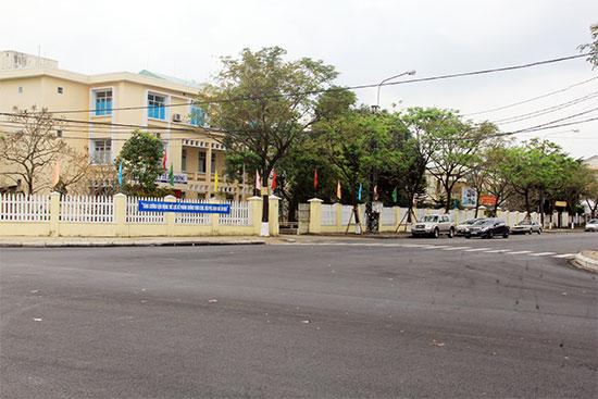 Trụ sở của 4/5 đơn vị sáp nhập sẽ được cải tạo, xây dựng thành Trung tâm Kiểm soát bệnh tật tỉnh Quảng Nam.Ảnh: NGUYỄN DƯƠNG