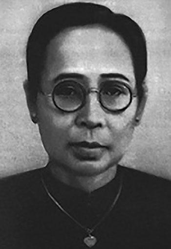 Nữ sĩ Song Thu (1900-1970).