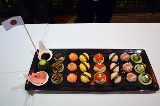 Một món ăn đặc trưng của đất nước Nhật Bản được giới thiệu trong đêm giao lưu