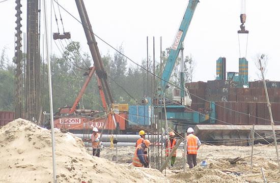 Nhiều dự án được triển khai tại vùng đông, góp nguồn vốn tạo động lực phát triển cho Quảng Nam.Ảnh: T.DŨNG