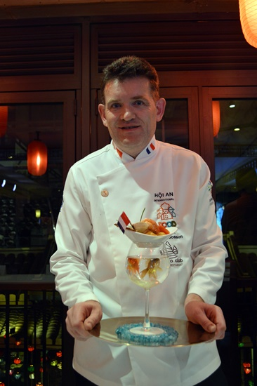 An intereting dish by a French chef
