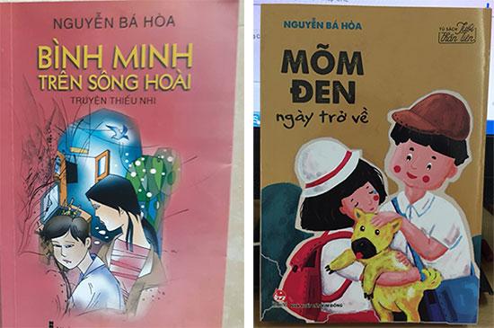 Những tập truyện dành cho thiếu nhi của nhà văn Nguyễn Bá Hòa.