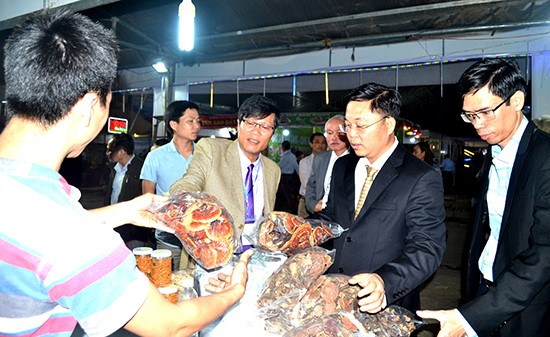 Quang Nam Spring Fair 2018 where local products were honoured.