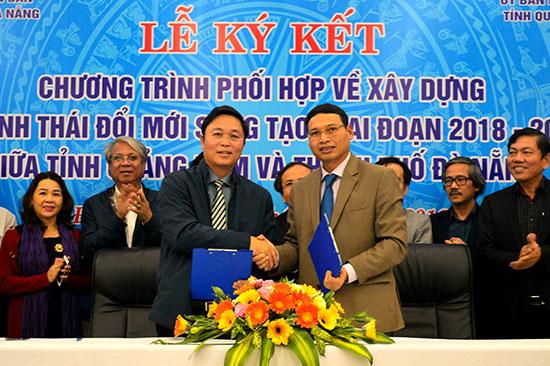 Quảng Nam và Đà Nẵng thời gian qua có mối hợp tác chặt chẽ trong lĩnh vực khởi nghiệp.