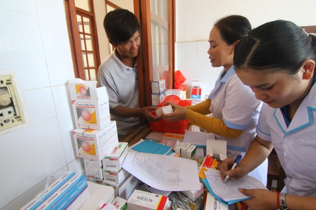 Đoàn sẽ thăm khám, tư vấn và cấp phát thuốc miễn phí cho gần 200 người dân huyện đảo. Ảnh: THÀNH CÔNG