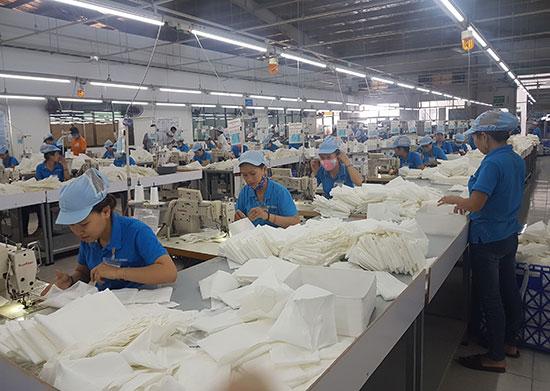 Lực lượng công nhân lao động của tỉnh ngày càng lớn mạnh về số lượng và chất lượng. Ảnh: D.L