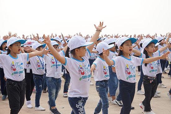 Tuần lễ công dân nhỏ SKY-LINE năm nay đã mang lại cho các em học sinh không chỉ rất nhiều trải nghiệm tuyệt vời và thú vị. Ảnh: Q.L