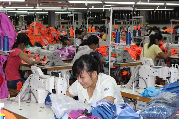 At a garment company in Quang Nam province. Photo: quangnam.gov.vn