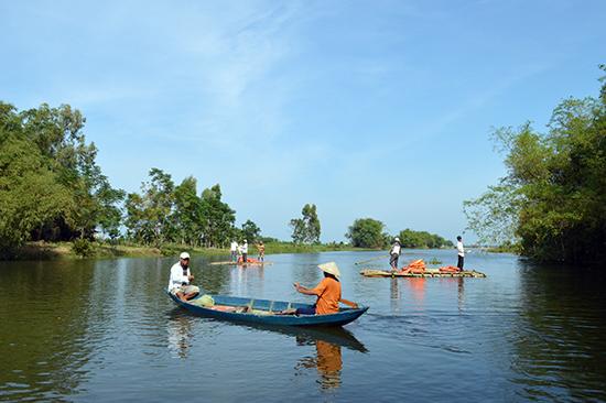 Triêm Tây, Điện Phương đang trở thành điểm thu hút nhiều dự án đầu tư về du lịch của Điện Bàn. Ảnh: G.KHANG