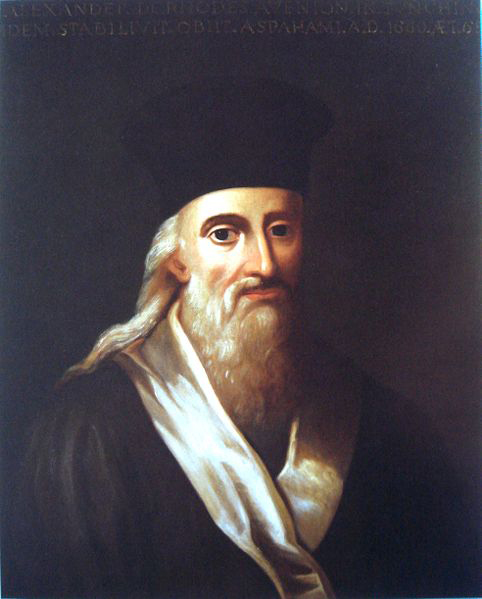 Giáo sĩ Alexandre de Rhodes.