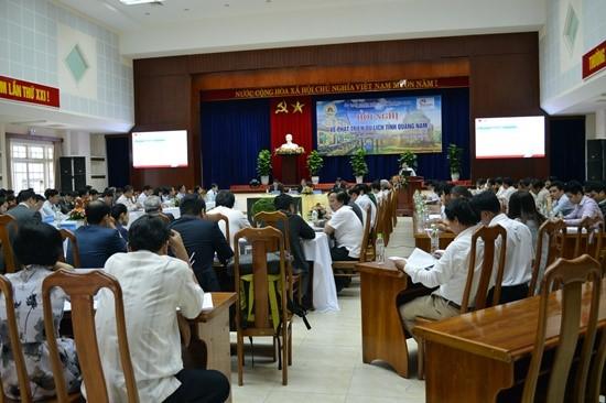 The conference scene