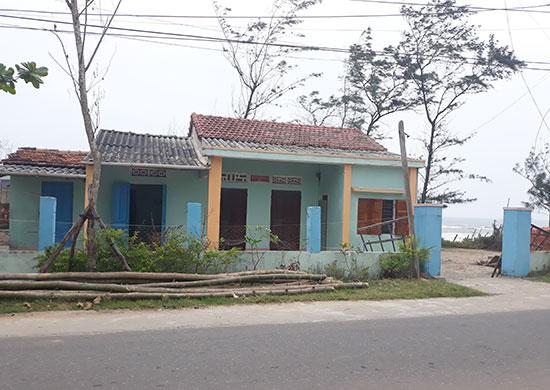 Ngôi nhà và mảnh đất được công nhận quyền sử dụng của ông Mai đã bán cho người khác. Ảnh: T.H