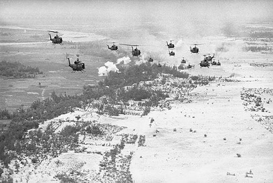 Vùng cát trắng Bình Dương (Thăng Bình) hơn 50 năm trước. Ảnh tư liệu