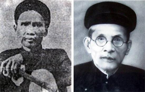 Thầy Trần Đình Phong và trò Huỳnh Thúc Kháng.