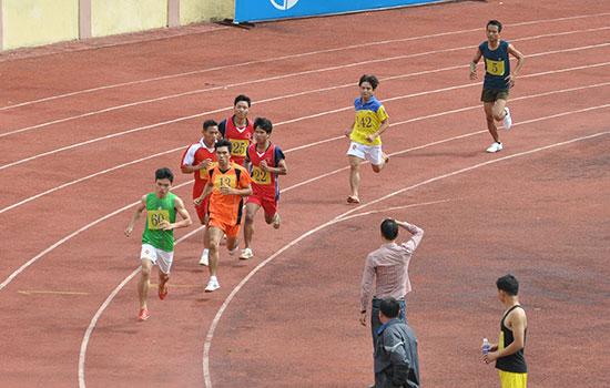 Điền kinh sẽ là môn đầu tiên thi đấu tại sân vận động Tam Kỳ sau lễ khai mạc. Ảnh: T.V
