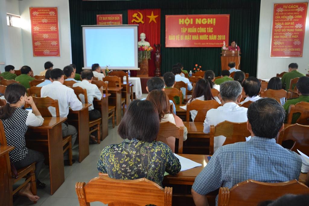 Các đại biểu tham gia hội nghị. Ảnh: H.V