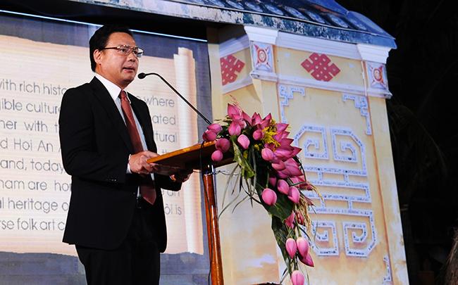 Phó Chủ tịch UBND tỉnh, Lê Văn Thanh cho đây là niềm tự hào của người Quảng. Ảnh: HẢI - LỘC