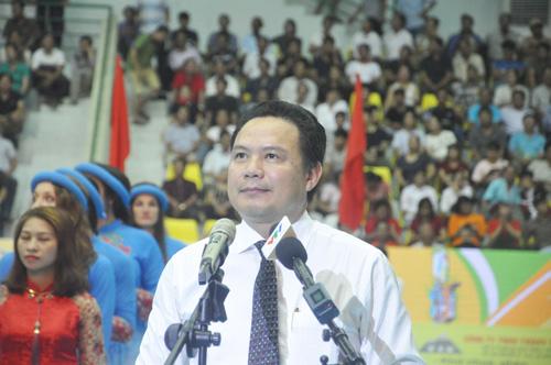 Phó Chủ tịch UBND tỉnh Lê Văn Thanh phát biểu chào mừng. Ảnh: T.V
