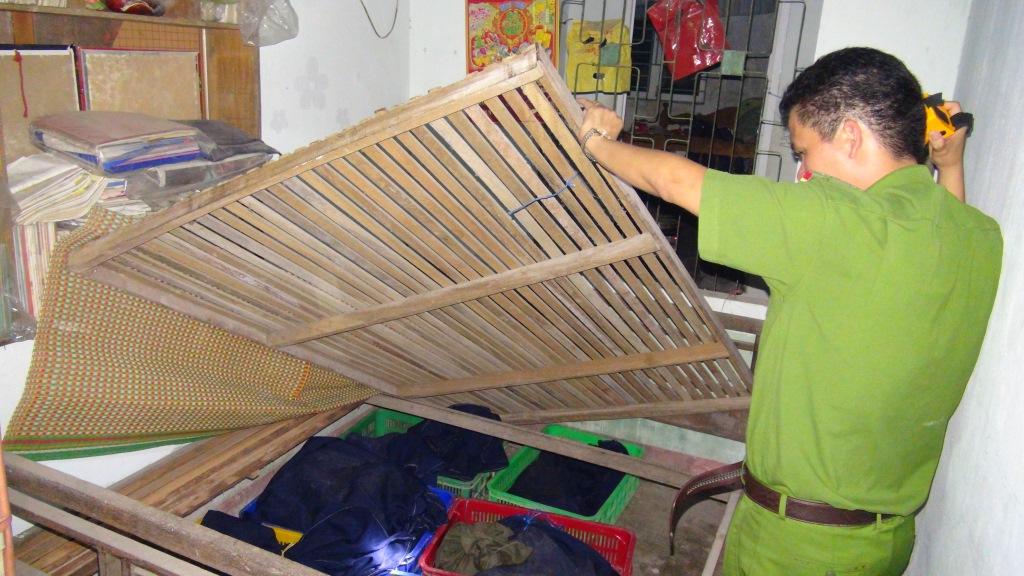 Động vật hoang dã được giấu tinh vi trong nhà bà Thuận