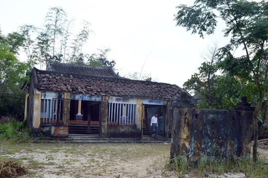 Di tích cấp tỉnh Nhà thờ Tiền hiền làng Hiền Lương