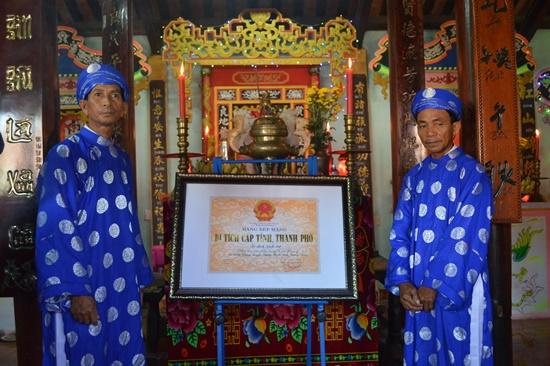 Nhà thờ Tiền hiền làng Hiền Lương được xếp hạng di tích lịch sử văn hóa cấp tỉnh sẽ tạo điều kiện bảo tồn phát huy giá trị di tích tốt hơn trong thời gian tới