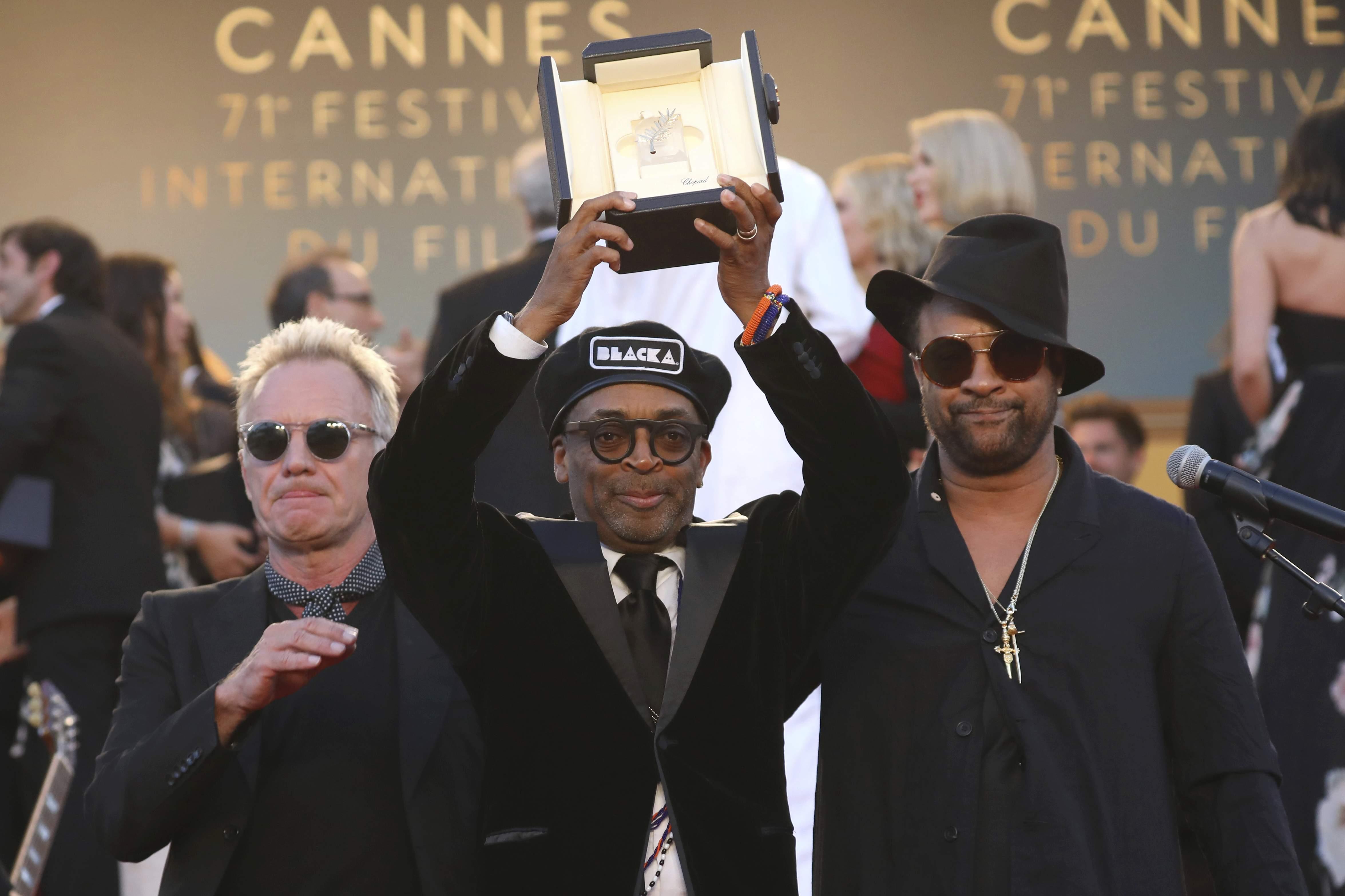 Giải thưởng Grand Prix (Giải thưởng lớn) năm nay thuộc về bộ phim  BlacKkKlansman của đạo diễn Spike Lee. Tác phẩm điện ảnh này nói về một cảnh sát điều tra Mỹ gốc Phi ở thành phố Colorado Springs được giao nhiệm vụ xâm nhập vào một chi nhánh của tổ chức bài da đen Ku Klux Klan.