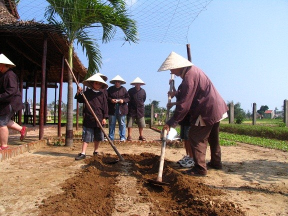They also find it interesting to prepare the land for planting vegetables….