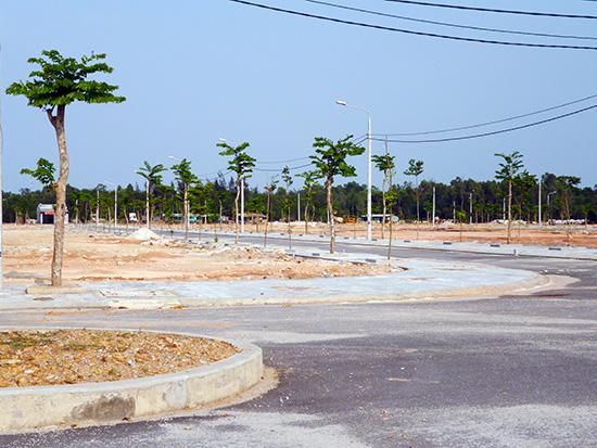 Hạ tầng được đầu tư khá đồng bộ tại dự án khu dân cư An Hà - Quảng Phú.