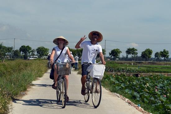 Dự án hướng đến tao lập thói quen đi xe đạp cho người dân và du khách