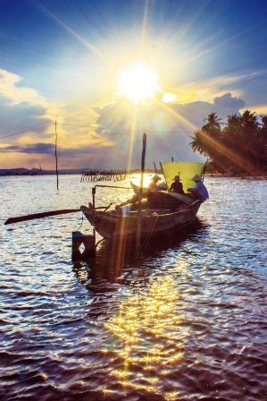 Sunset in Tam Hai (dulichtamhai.com)