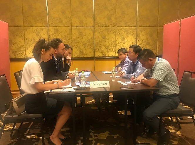 Vice Chairman Thanh has a working session with representatives of Croatia Embassy