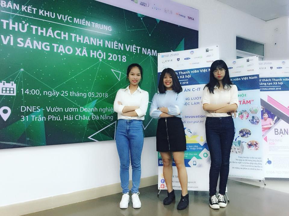 Các thành viên thuộc dự án C-IT lọt vào vòng chung kết VYSI Challenge 2018. Ảnh: Q.T