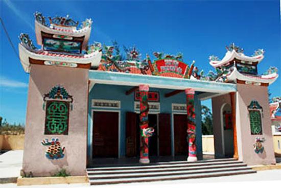 Nhà thờ Tộc Phạm ở Điện Bàn, nơi thờ Phạm Như Xương.