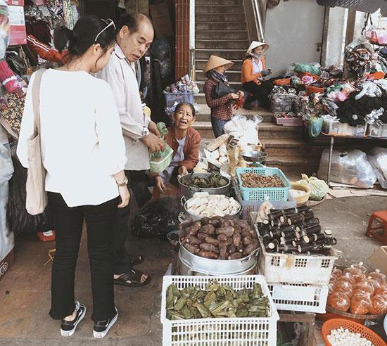 Chợ Đà Lạt. Ảnh: H.N.T
