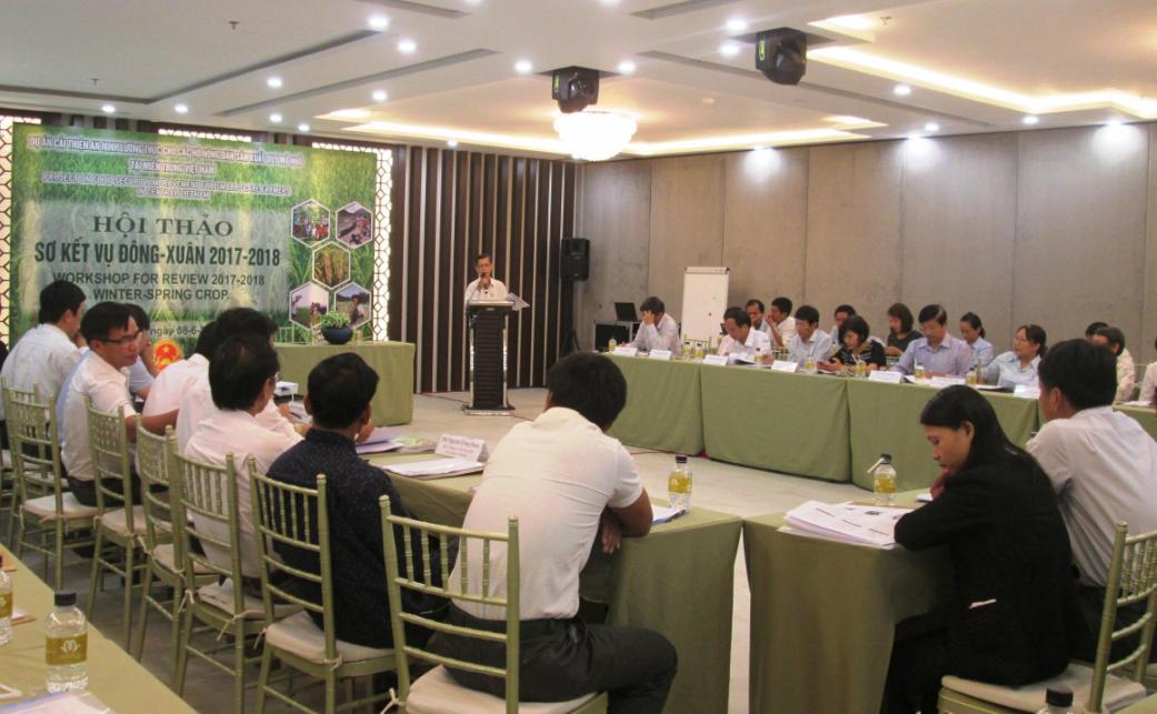 Quang cảnh hội nghị diễn ra tại TP. Đà Nẵng ngày 8.6. Ảnh: VĂN SỰ
