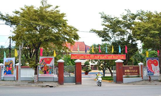 Huyện ủy Đại Lộc đã và đang tích cực chỉ đạo thực hiện các nghị quyết của Đảng về sắp xếp, tinh gọn bộ máy.Ảnh: CÔNG TÚ