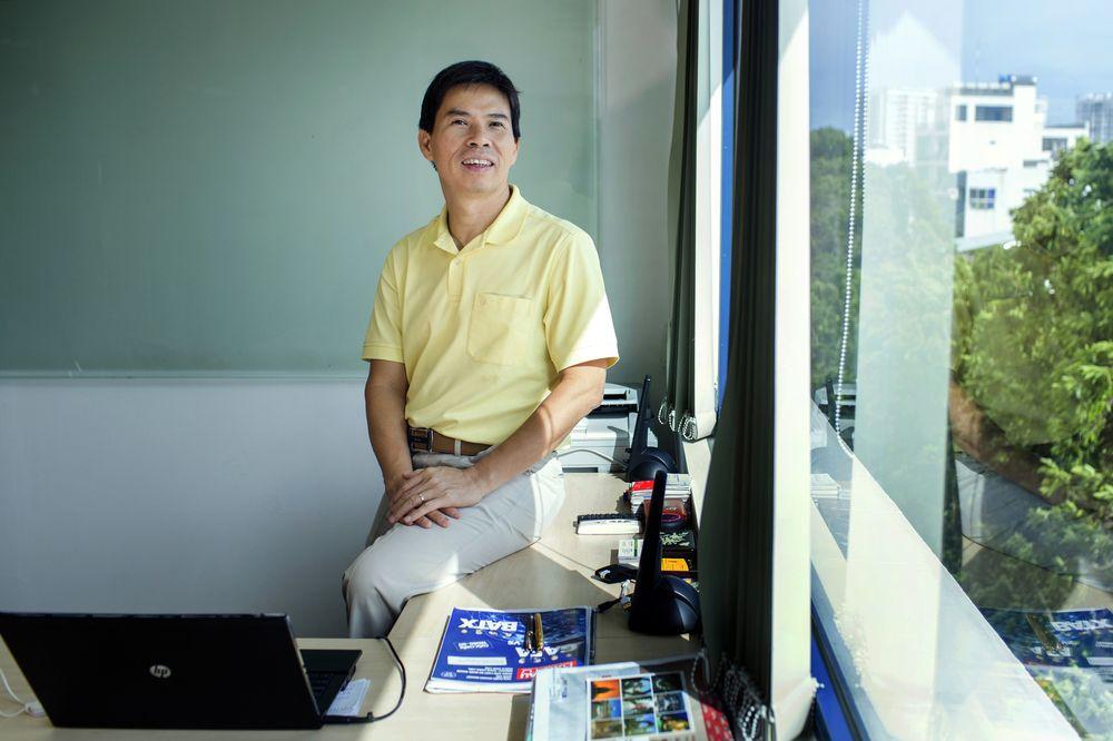 Doanh nhân Nguyễn Đức Tài. AnhrL Bloomberg