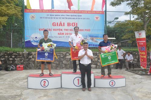 Một mùa giải thành công của các đơn vị Núi Thành, Điện Bàn, Hội An. Ảnh: T.V