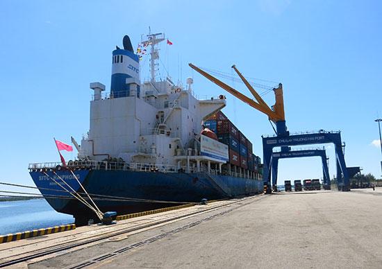 Chu Lai - Truong Hai seaport.