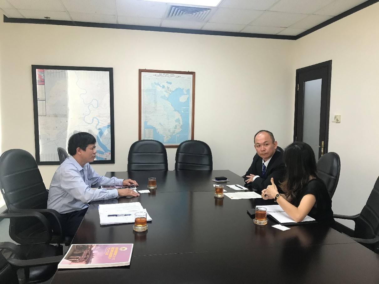 Leader of CPAIP of Quang Nam province in one of the meetings.